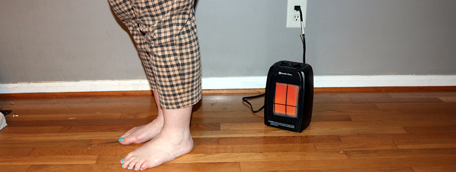 Cozy Space Heaters Can Cause Home Fires