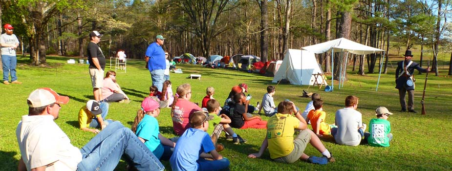 First 4-H Camp-Out at HBNMP a Success