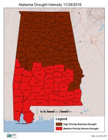 RCS Alabama Announces Drought Funding