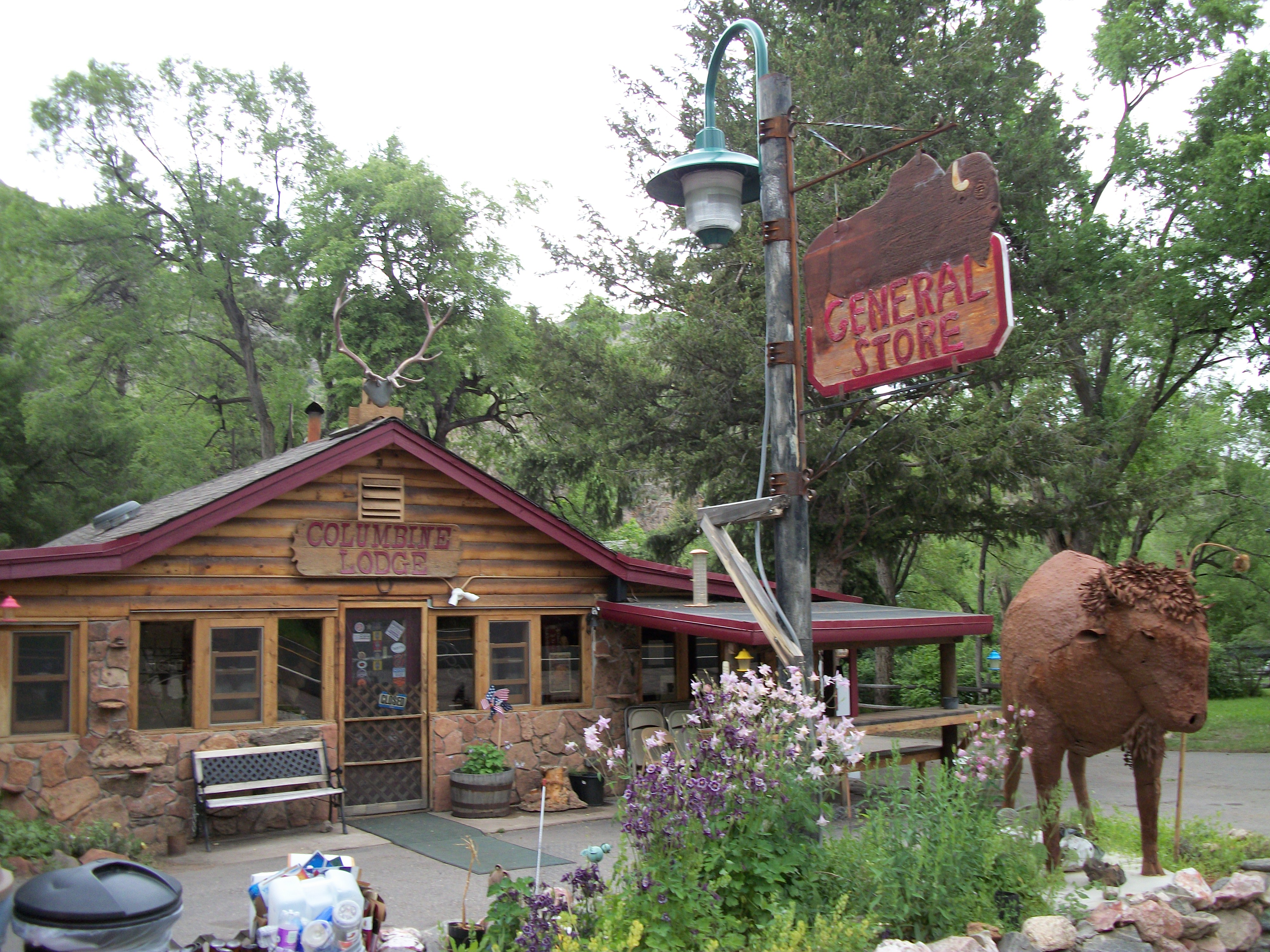 General Store, Pudre Canyon, CO